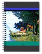 Fishn My Way Spiral Notebook