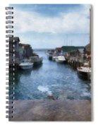 Fishtown Leland Michigan Spiral Notebook