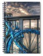 Fishy Bike Spiral Notebook