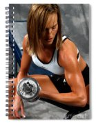 Fitness 28-2 Spiral Notebook