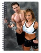 Fitness Couple 17-2 Spiral Notebook