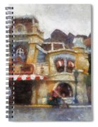 Five And Dime Disneyland Toontown Photo Art 02 Spiral Notebook