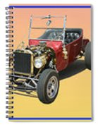 Five Bad Big Boys Rides Spiral Notebook