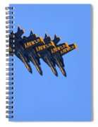 Four Hornets In Close Trail Spiral Notebook