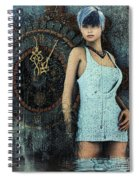 Five Past Twelve Spiral Notebook