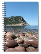 five steps to paradise - Giant pebbles is Menorca north shore close to Cala Pilar beach Spiral Notebook