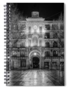 Five Till Seven In Black And White Spiral Notebook