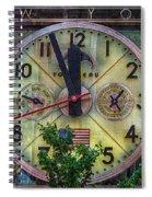 Five To Twelve Spiral Notebook