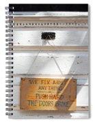 Fix It Shop Spiral Notebook