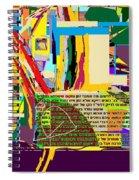 Fixing Space 6d Spiral Notebook