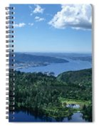 Fjord View Spiral Notebook