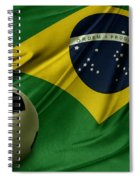 Flag And Ball Spiral Notebook