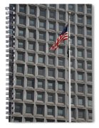 Flag And Windows Spiral Notebook