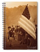 Flag Carrier Spiral Notebook