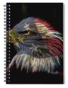 Flag Of Honor Spiral Notebook
