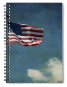 Flag - Still Standing Proud - Luther Fine Art Spiral Notebook