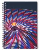Flag Wheel Spiral Notebook