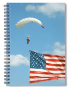 Flagdiver Spiral Notebook