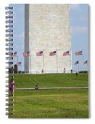 Flags Around Washington Spiral Notebook