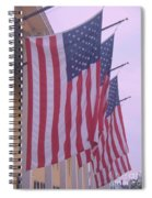 Flags At Cape May Nj Spiral Notebook