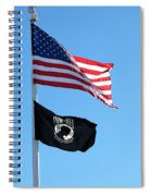 Flags Spiral Notebook