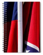 Flags Of The North And South Spiral Notebook