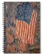 Flags On The Waldorf Spiral Notebook