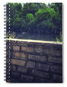 Flagstone Wall Spiral Notebook
