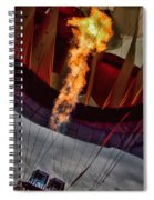Flame On Two Spiral Notebook