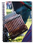 Flame Throwers Spiral Notebook