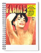 Flame - Vintage Magazines Covers Series Spiral Notebook