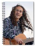 Flamenco Guitarist Spiral Notebook