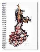Flamenco Series #12 Spiral Notebook