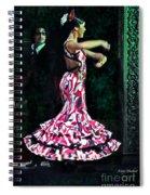 Flamenco Series No. 10 Spiral Notebook