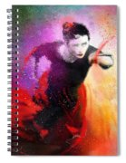 Flamencoscape 03 Spiral Notebook