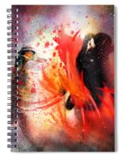 Flamencoscape 07 Spiral Notebook