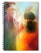 Flamencoscape 09 Spiral Notebook