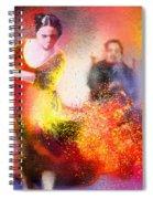 Flamencoscape 11 Spiral Notebook