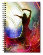 Flamencoscape 16 Spiral Notebook