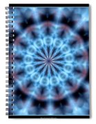 Flames Kaleidoscope 4 Spiral Notebook