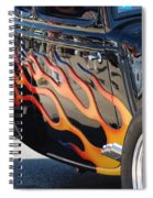 Flaming Classic Spiral Notebook