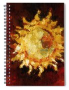 Flaming Out Spiral Notebook