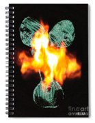 Flaming Personality Spiral Notebook