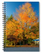 Flaming Spiral Notebook