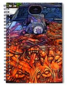 Flaming Vette 2 Spiral Notebook