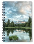 Flash Of Light Spiral Notebook