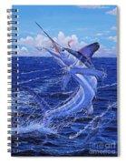 Flat Line Off0077 Spiral Notebook