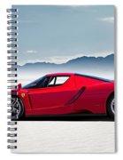 Flat Out  Spiral Notebook