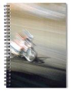 Flat Track Spiral Notebook