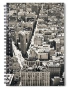 Flatiron Building - New York City Spiral Notebook